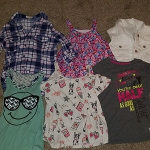 Other - Girls 6 top bundle (size 10-12)